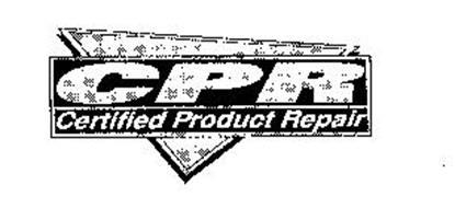 CPR CERTIFIED PRODUCT REPAIR