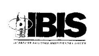 IBIS INTEGRATED BALLISTICS IDENTIFICATION SYSTEM