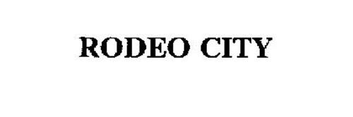 RODEO CITY