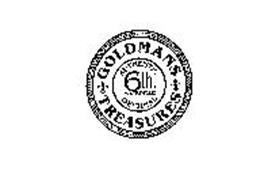 GOLDMANS TREASURES AUTHENTIC 6TH AVENUE ORIGINAL