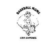 BASEBALL MOMS LOVE DIAMONDS