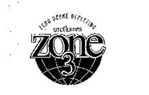 ZONE 3 ZERO OZONE DEPLETING URETHANES
