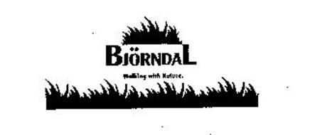 BJORNDAL WALKING WITH NATURE.
