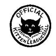 OFFICIAL KITTEN LEAGUE BALL TRADEMARK