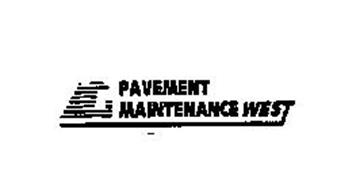 PAVEMENT MAINTENANCE WEST