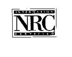 INTERMATION CERTIFIED NRC