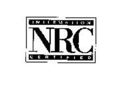 NRC INTERMATION CERTIFIED