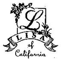 L LISA OF CALIFORNIA
