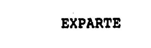 EXPARTE