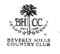 BHCC EST. 1926 BEVERLY HILLS COUNTRY CLUB