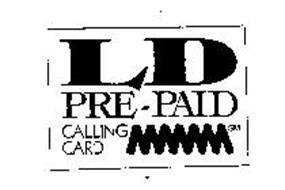 LD PRE-PAID CALLING CARD