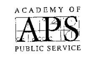 APS ACADEMY OF PUBLIC SERVICE