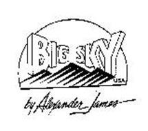 BIG SKY USA BY ALEXANDER JAMES
