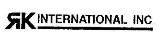 RK INTERNATIONAL INC