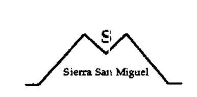 S SIERRA SAN MIGUEL