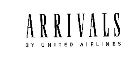 ARRIVALS BY UNITED AIRLINES