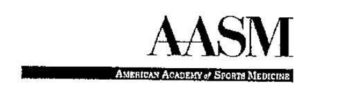 AMERICAN ACADEMY OF SPORTS MEDICINE AASM