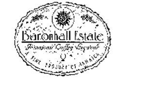 BARONHALL ESTATE JAMAICAN COFFEE LIQUEUR A FINE PRODUCT OF JAMAICA