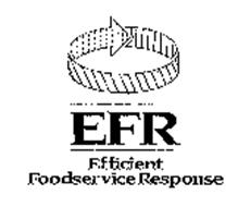 EFR EFFICIENT FOODSERVICE RESPONSE