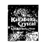 KAKABEKA CRYSTAL CANADIAN SPRING WATER