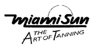 MIAMI SUN THE ART OF TANNING