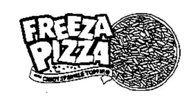 FREEZA PIZZA WITH CANDY SPRINKLE TOPPING