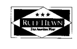 RUFF HEWN TRUE AMERICAN WEAR