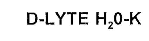 D-LYTE H20-K