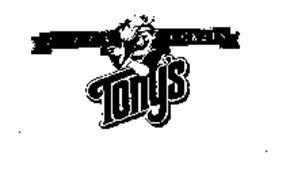 PIZZA POCKETS TONY'S