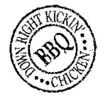 DOWN RIGHT KICKIN' BBQ CHICKEN