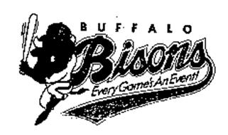 B BUFFALO BISONS EVERY GAME'S AN EVENT!