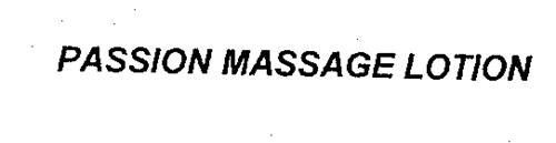PASSION MASSAGE LOTION