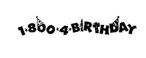 1-800-4-BIRTHDAY