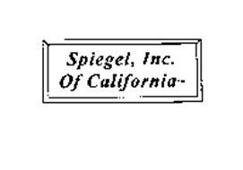 SPIEGEL, INC. OF CALIFORNIA