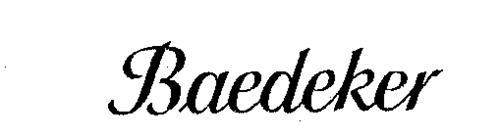 BAEDEKER