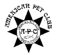 AMERICAN PET CLUB AMERICAN PET CLUB CORPORATION A-P-C