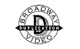 BROADWAY DUPLICATION VIDEO