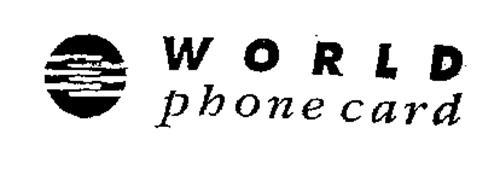 WORLD PHONECARD
