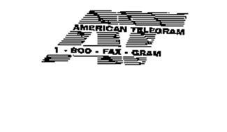 AT AMERICAN TELEGRAM 1-800-FAX-GRAM