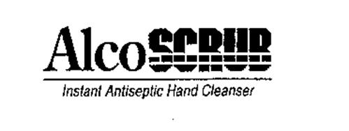 ALCO SCRUB INSTANT ANTISEPTIC HAND CLEANSER
