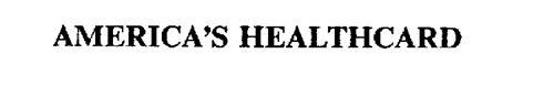 AMERICA'S HEALTHCARD