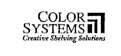 COLOR SYSTEMS CREATIVE SHELVING SOLUTIONS