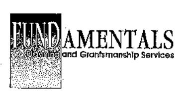 FUNDAMENTALS PLANNING AND GRANTSMANSHIP SERVICES