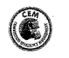CEM COMBUSTION EFFICIENCY MANAGEMENT