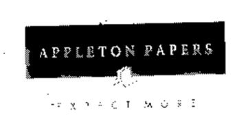 appleton paper Overview ips testing provides independent services that touch the lives of millions of people we are the largest lab that provides specialized testing services to the paper, nonwovens, packaging and consumer products industries.