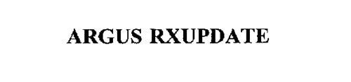 ARGUS RXUPDATE