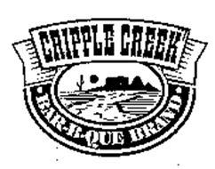 CRIPPLE CREEK BAR-B-QUE BRAND
