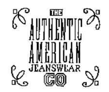 THE AUTHENTIC AMERICAN JEANSWEAR CO