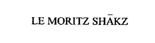 LE MORITZ SHAKZ
