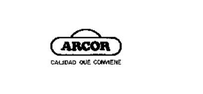 ARCOR CALIDAD QUE CONVIENE